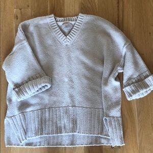 NWOT Loft Cozy V neck Sweater